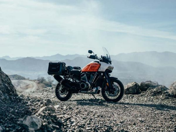 แนวคิด Pan America Adventure-Touring ของ Harley-Davidson อยู่ในทัวร์ยุโรป