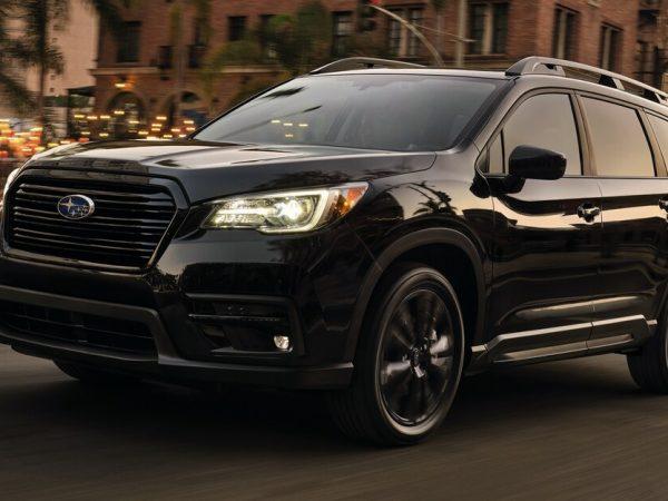 Onyx Trim ของ Subaru Outback หาทางไปสู่ 2022 Ascent