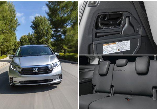 2021 Honda Odyssey : รถที่ดีที่สุดสำหรับสุนัขในปี 2021