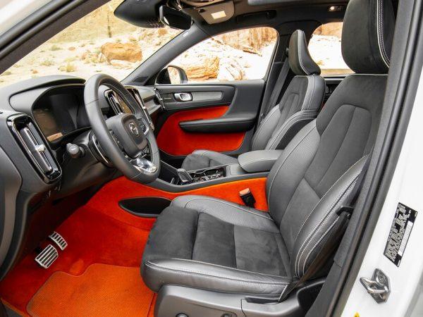 2020 Volvo XC40 : การตกแต่งภายในรถที่มีสีสันที่สุด