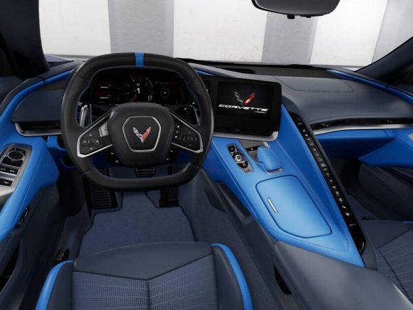 2020 Chevrolet Corvette : การตกแต่งภายในรถที่มีสีสันที่สุด