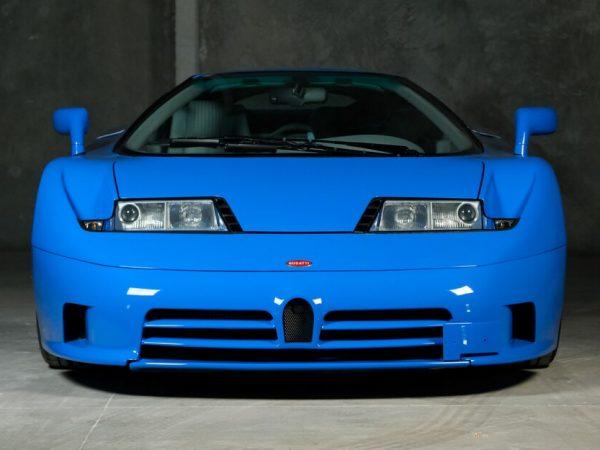 Bugatti EB110 GT Prototype ปี 1994 นี้ขายได้เหมือนกับที่ Bugatti เปลี่ยนมือ
