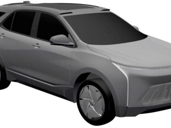 รถยนต์ไฟฟ้า Chevy Equinox อาจถูกเปิดเผยในภาพสิทธิบัตร