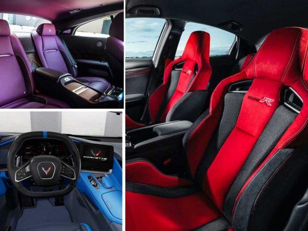 ตกภายในสวย นี่คือการตกแต่งภายในรถที่มีสีสันที่สุด